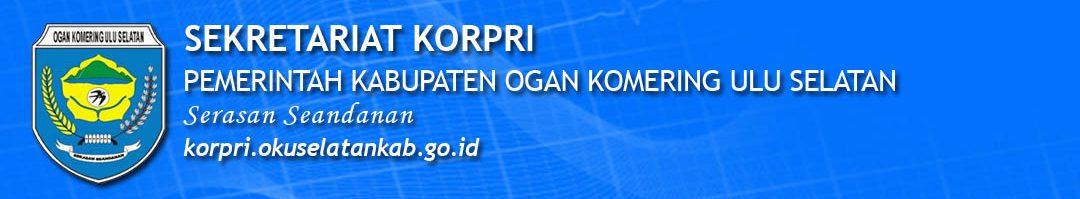Portal Resmi Sekretariat Korpri Pemerintah Kabupaten OKU Selatan